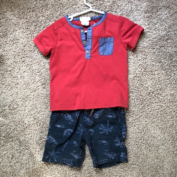 Other - Size 18 months shirt and shorts set